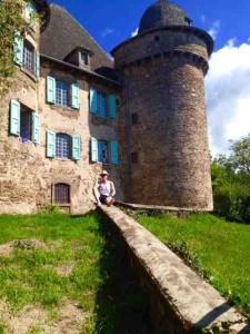 Gérard au chateau