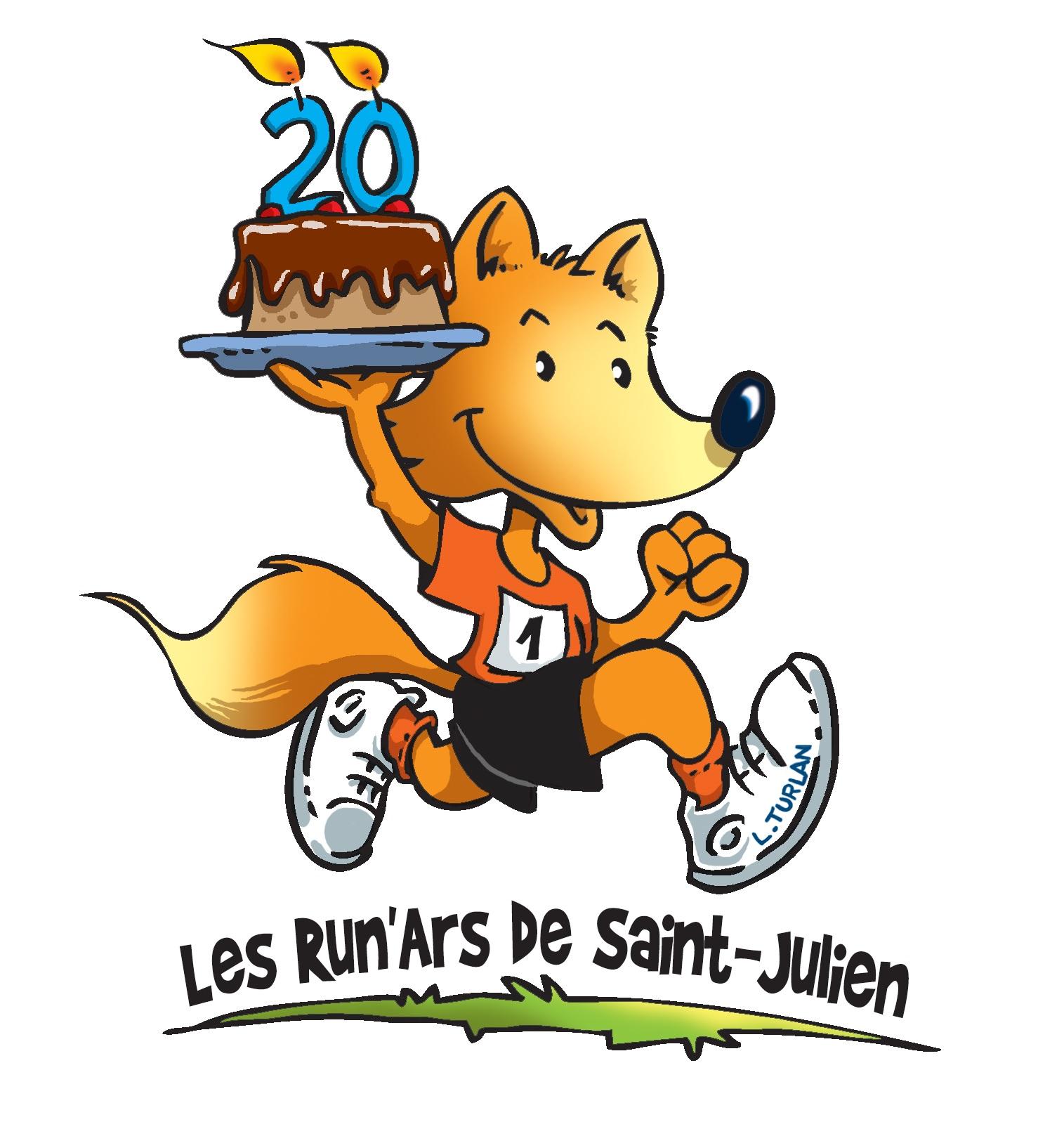 Les 20ièmes foulées de Saint Julien l'ars auront lieu le dimanche 9 septembre